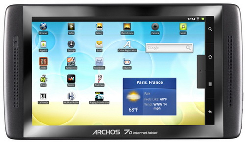 Archos 70 Internet Tablet
